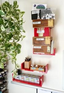 Red Ink Shelves