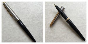 Not my Dad's pen, but the same model, in a later edition and different color.